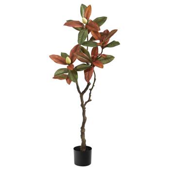 4 Fall Magnolia Artificial Tree - SKU #T2788