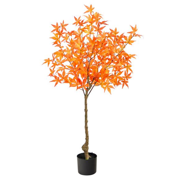 4 Autumn Maple Artificial Tree - SKU #T2795 - 4