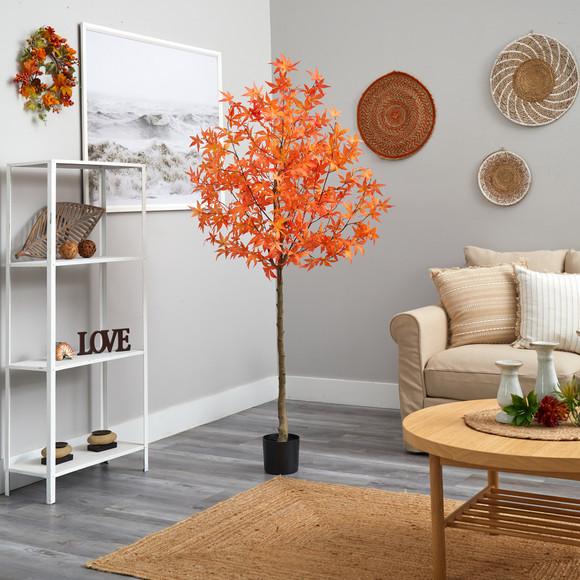 4 Autumn Maple Artificial Tree - SKU #T2795 - 7