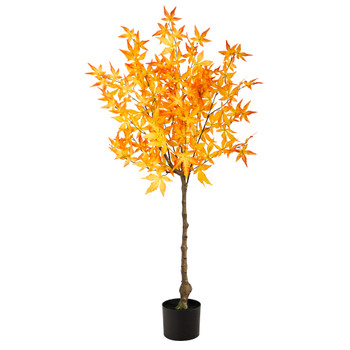 4 Autumn Maple Artificial Tree - SKU #T2795