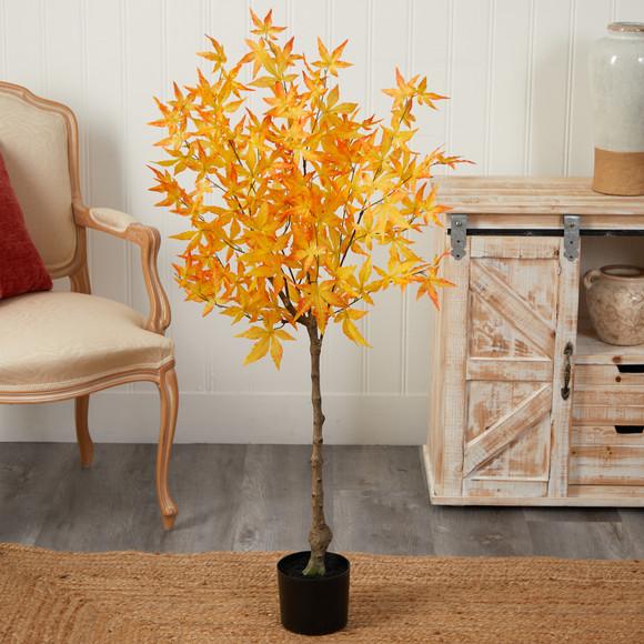 4 Autumn Maple Artificial Tree - SKU #T2795 - 2