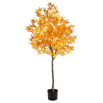 5 Autumn Maple Artificial Tree - SKU #T2796