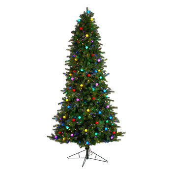 8.5 Montana Mountain Fir Tree with 800 Multi Color LED Lights and Instant Connect Technology - SKU #T3519