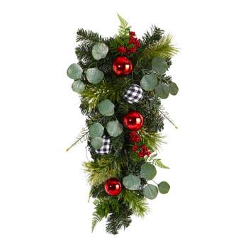 26 Holiday Christmas Greenery Ornament Artificial Swag - SKU #W1265