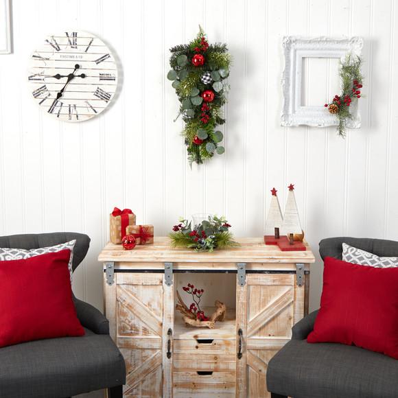26 Holiday Christmas Greenery Ornament Artificial Swag - SKU #W1265 - 3